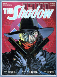 Cover Thumbnail for Marvel Graphic Novel: The Shadow (Marvel, 1988 series)
