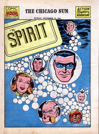 Cover Thumbnail for The Spirit (Register and Tribune Syndicate, 1940 series) #11/25/1945