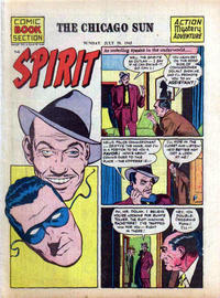 Cover Thumbnail for The Spirit (Register and Tribune Syndicate, 1940 series) #7/29/1945