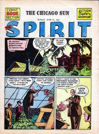 Cover Thumbnail for The Spirit (Register and Tribune Syndicate, 1940 series) #6/24/1945