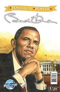 Cover Thumbnail for Political Power Barack Obama (Bluewater / Storm / Stormfront / Tidalwave, 2009 series) #1