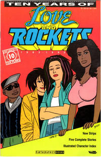 Cover Thumbnail for Ten Years of Love and Rockets (Fantagraphics, 1992 series)