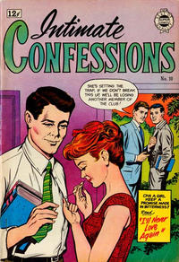 Cover Thumbnail for Intimate Confessions (I. W. Publishing; Super Comics, 1958 series) #10