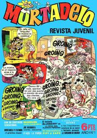 Cover Thumbnail for Mortadelo (Editorial Bruguera, 1970 series) #1