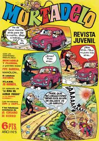 Cover Thumbnail for Mortadelo (Editorial Bruguera, 1970 series) #5