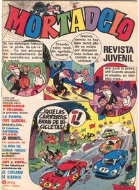 Cover Thumbnail for Mortadelo (Editorial Bruguera, 1970 series) #6