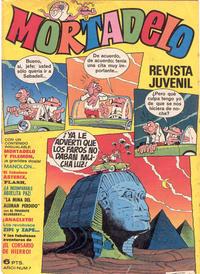 Cover Thumbnail for Mortadelo (Editorial Bruguera, 1970 series) #7