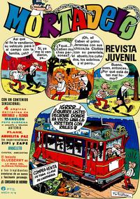 Cover Thumbnail for Mortadelo (Editorial Bruguera, 1970 series) #8