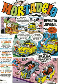 Cover Thumbnail for Mortadelo (Editorial Bruguera, 1970 series) #12