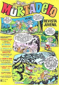 Cover Thumbnail for Mortadelo (Editorial Bruguera, 1970 series) #14