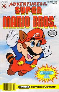 Cover Thumbnail for Adventures of the Super Mario Bros. (Acclaim / Valiant, 1990 series) #1