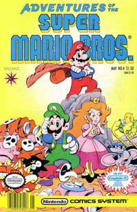 Cover Thumbnail for Adventures of the Super Mario Bros. (Acclaim / Valiant, 1990 series) #4