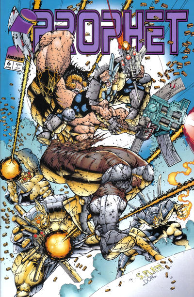 Cover for Prophet (Image, 1993 series) #6