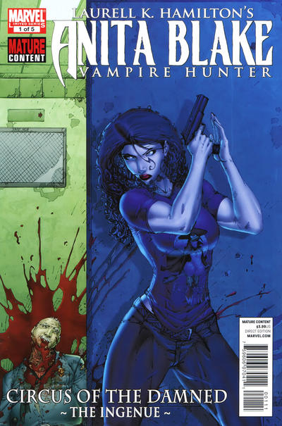 Cover for Anita Blake: Circus of the Damned - The Ingenue (Marvel, 2011 series) #1