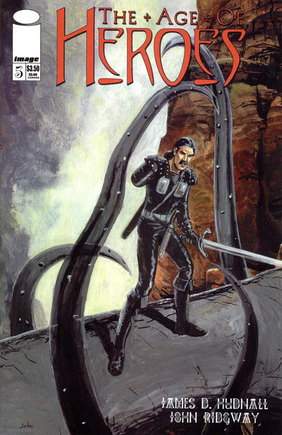 Cover for The Age of Heroes (Image, 1997 series) #5
