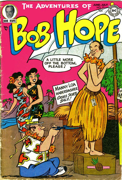 Cover for The Adventures of Bob Hope (DC, 1950 series) #27