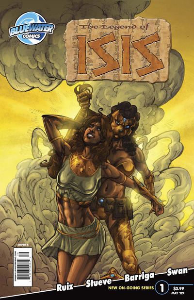 Cover for Legend of Isis (Bluewater / Storm / Stormfront / Tidalwave, 2009 series) #1