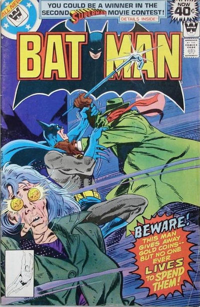 Cover for Batman (DC, 1940 series) #307