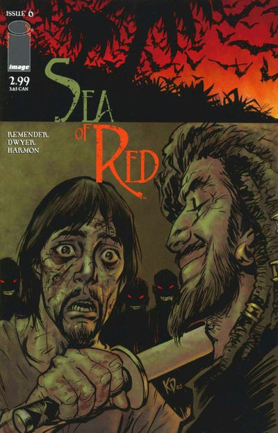 Cover for Sea of Red (Image, 2005 series) #6