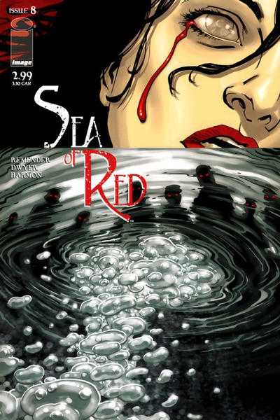 Cover for Sea of Red (Image, 2005 series) #8