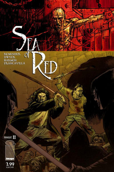 Cover for Sea of Red (Image, 2005 series) #11