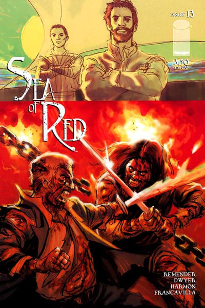 Cover for Sea of Red (Image, 2005 series) #13