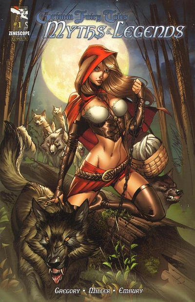 Cover for Grimm Fairy Tales Myths & Legends (Zenescope Entertainment, 2011 series) #1 [Cover A - J. Scott Campbell]