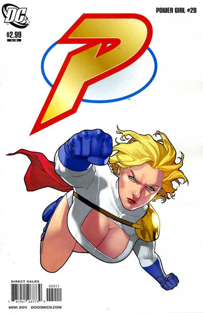 Cover for Power Girl (DC, 2009 series) #20