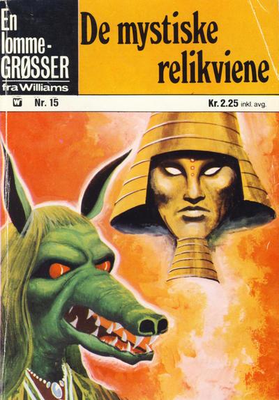 Cover for Lomme-Grøsser (Illustrerte Klassikere / Williams Forlag, 1973 series) #15
