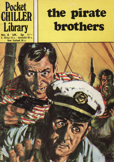 Cover for Pocket Chiller Library (Thorpe & Porter, 1971 series) #8