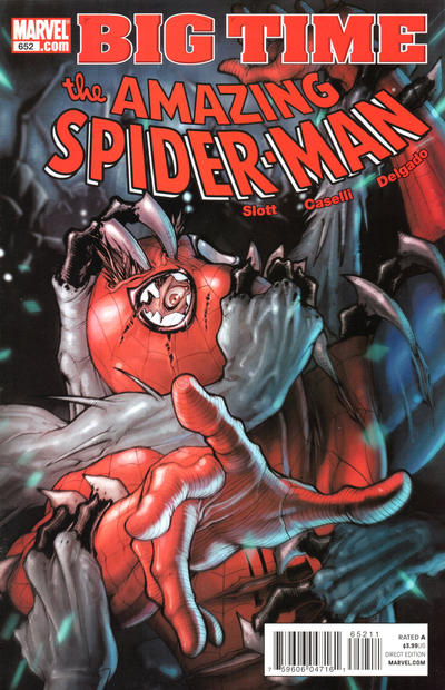 Cover for The Amazing Spider-Man (Marvel, 1999 series) #652