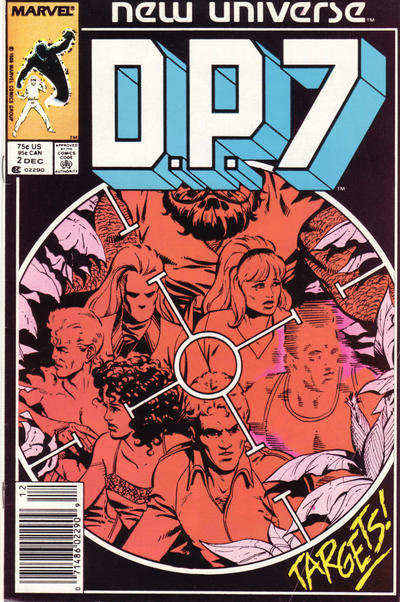 Cover for D.P. 7 (Marvel, 1986 series) #2 [Newsstand Edition]