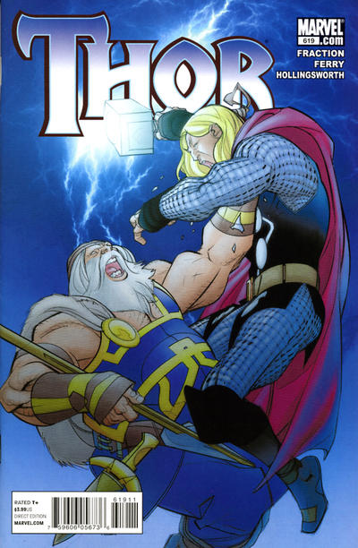 Cover for Thor (Marvel, 2007 series) #619