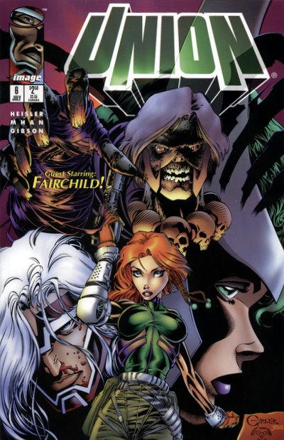 Cover for Union (Image, 1995 series) #6