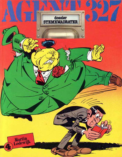 Cover for Agent 327 (Oberon, 1977 series) #4 - Dossier Stemkwadrater