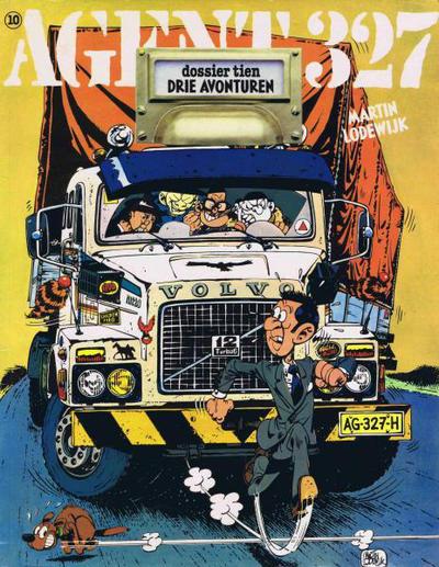 Cover for Agent 327 (Oberon, 1977 series) #10 - Dossier Tien Drie avonturen