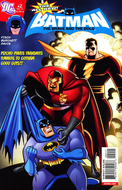 Cover for The All-New Batman: The Brave and the Bold (DC, 2011 series) #2