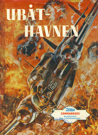 Cover for Commandoes (Fredhøis forlag, 1973 series) #3