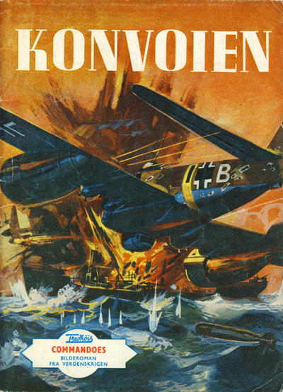 Cover for Commandoes (Fredhøis forlag, 1973 series) #4