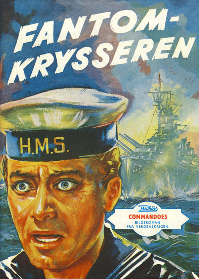 Cover for Commandoes (Fredhøis forlag, 1973 series) #5