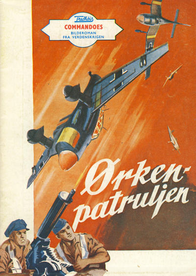 Cover for Commandoes (Fredhøis forlag, 1973 series) #6