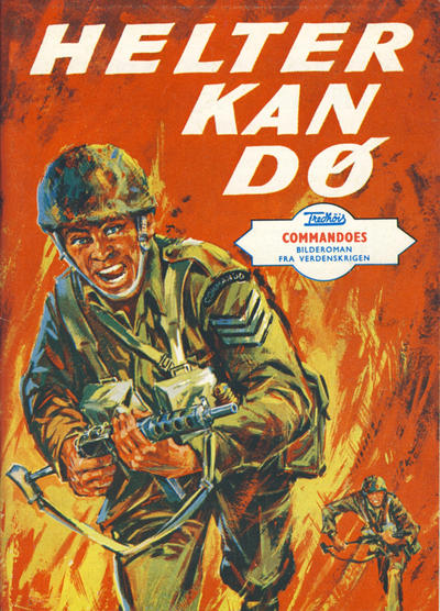 Cover for Commandoes (Fredhøis forlag, 1973 series) #7