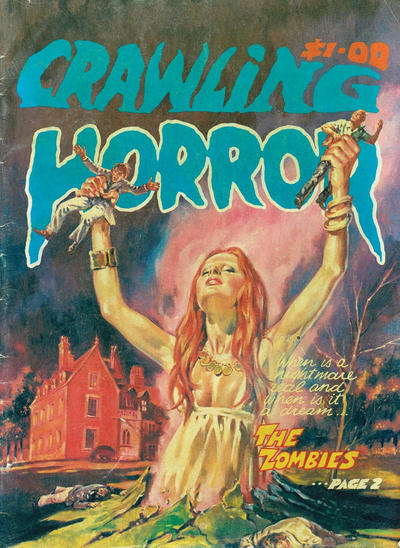Cover for Crawling Horror (Gredown, 1982 ? series)