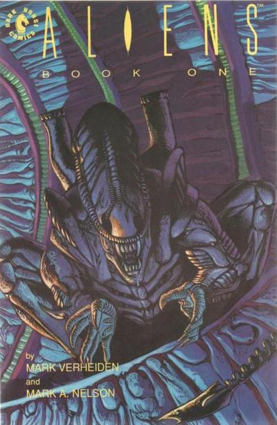 Cover for Aliens (Dark Horse, 1989 series) #1