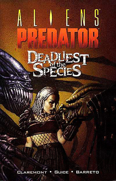 Cover for Aliens / Predator: Deadliest of the Species (Dark Horse, 1997 series)