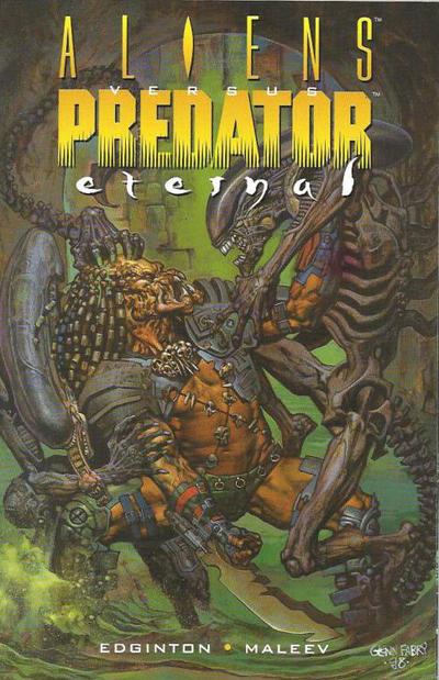 Cover for Aliens vs. Predator: Eternal (Dark Horse, 1999 series)