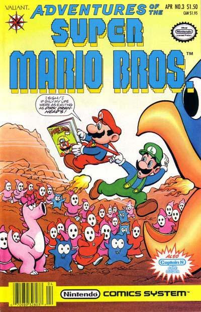 Cover for Adventures of the Super Mario Bros. (Acclaim / Valiant, 1990 series) #3