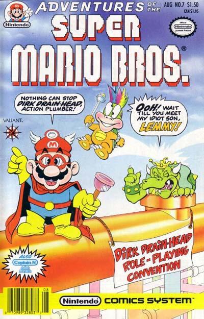 Cover for Adventures of the Super Mario Bros. (Acclaim / Valiant, 1990 series) #7