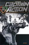 Cover for Captain Action Comics (Moonstone, 2008 series) #3.5 [Noir Cover]