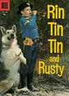 Cover for Rin Tin Tin (Dell, 1954 series) #18 [15 cent cover price]